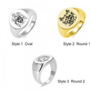 Personalized Signet Rings‎